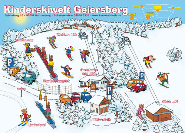 Hauzenberg - Geiersberg Trail Map
