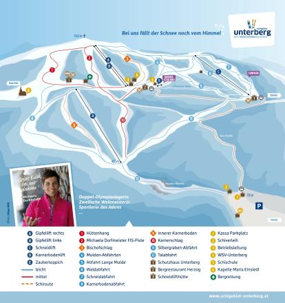 Unterberg - Pernitz Piste Map