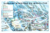 Sollières - Sardières Mapa zjazdoviek