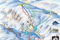 Sirdal - Tjørhomfjellet Trail Map
