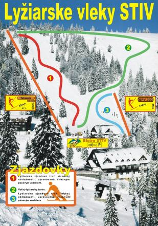 Čertovica / STIV Trail Map
