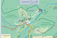 Podbanské Mapa zjazdoviek