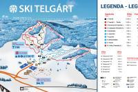 Telgárt Trail Map