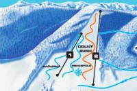Regetovka Piste Map