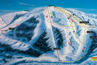 Sachticky Piste Map