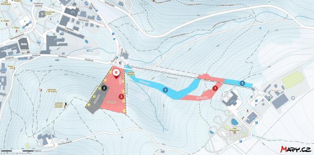 Mariánské Lázně Trail Map