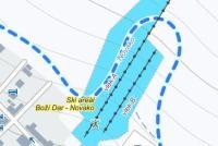 Boží Dar - Novako Plan des pistes