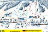 Zakopane - Harenda Trail Map