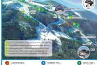 Wisła - Soszów  Mapa tras