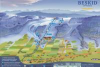 Spytkowice - Beskid  Plan des pistes
