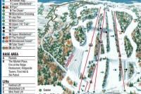 Powder Ridge Park Mappa piste