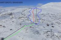 Grotli Skiheiser Pistenplan