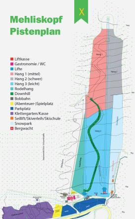 Mehliskopf Mappa piste