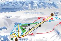 Pescocostanzo Piste Map