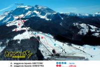 Prato Selva Plan des pistes