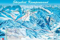 Kampenwand - Aschau im Chiemgau Mapa de pistas
