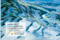 Bad Kohlgrub - Hörnle Piste Map