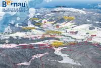 Bernau im Schwarzwald Trail Map