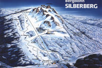 Bodenmais Erlebnis Silberberg Plan des pistes