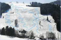 Thalerhöhe Plan des pistes