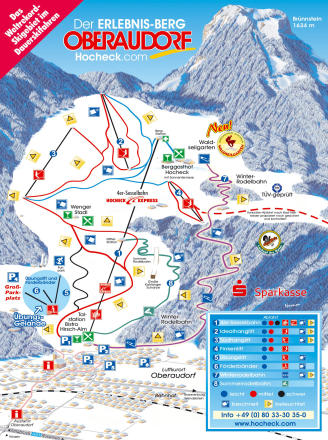 Oberaudorf - Hocheck Trail Map