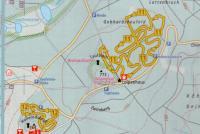 Hoherodskopf - Schotten - Breungeshain Mapa tras