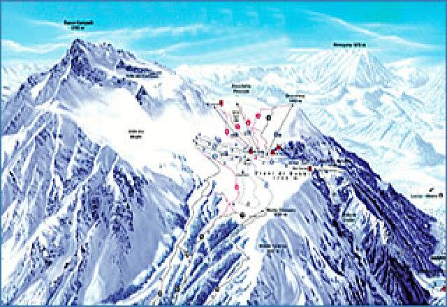 Mapa zjazdoviek
