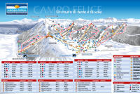 Campo Felice - Rocca di Cambio Mapa zjazdoviek