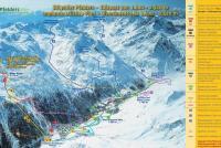 Plan Val Passiria / Pfelders Piste Map