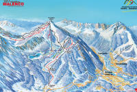 Chiesa Valmalenco Piste Map