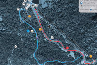 Colle di Joux Trail Map