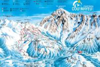 Courmayeur Piste Map