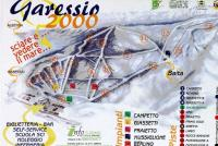 Garéssio 2000 Piste Map