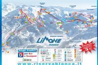 Limone Piemonte Trail Map
