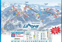 Limone Piemonte Piste Map