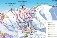 Nevegal Plan des pistes