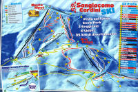 Sangiacomo di Roburent Piste Map