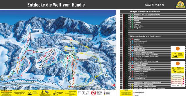 Hündle - Erlebnisbahn Oberstaufen Trail Map