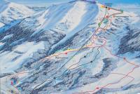 Oberstaufen - Hochgrat Pistkarta