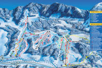 Oberstaufen - Skilifte Thalkirchdorf Mapa tras