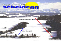 Scheidegg - Möggers Trail Map
