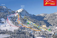Unterjoch Trail Map