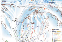 Las Lenas Piste Map