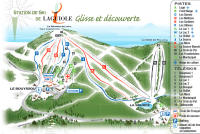 Laguiole Piste Map