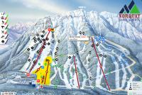 Mt. Norquay Piste Map