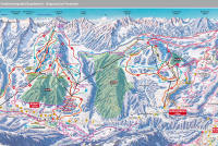 Brandnertal Piste Map