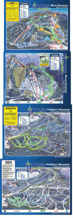 Cypress Mountain Mapa tras