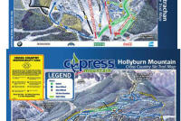 Cypress Mountain Plan des pistes