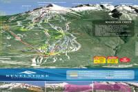 Revelstoke Mountain Piste Map