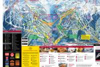 Whistler Blackcomb Plan des pistes